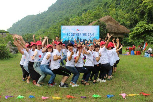 team building cho Suntory Pepsico